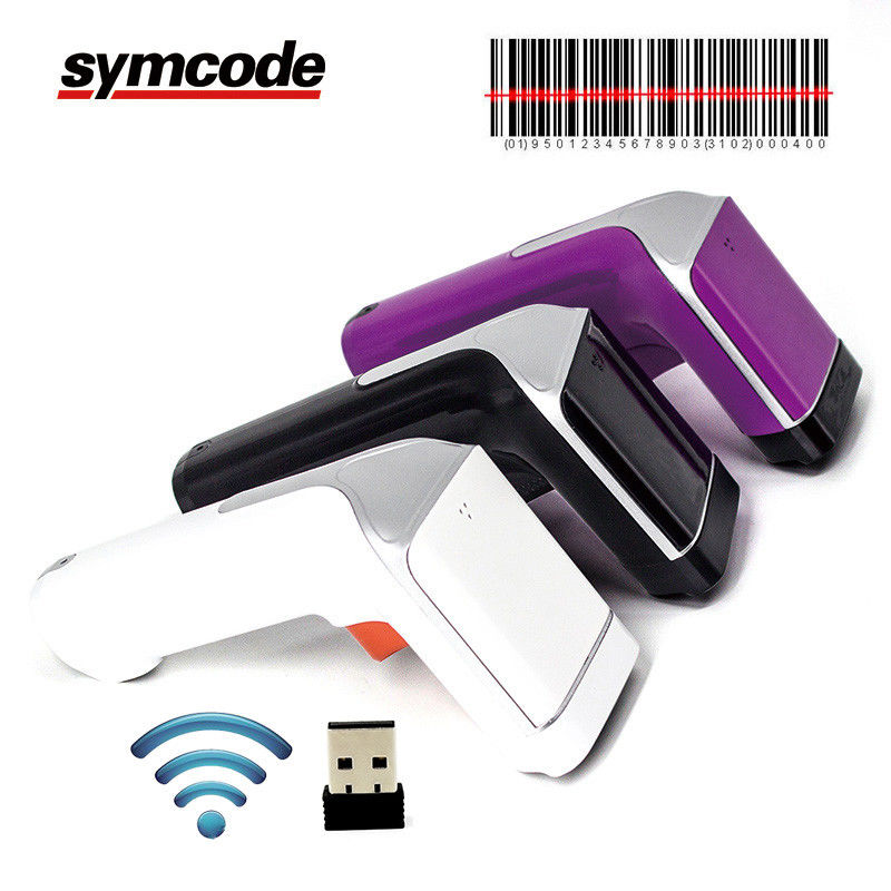 2.4G Rechargeable 1D Barcode Scanner / Handheld Barcode Reader For Inventory
