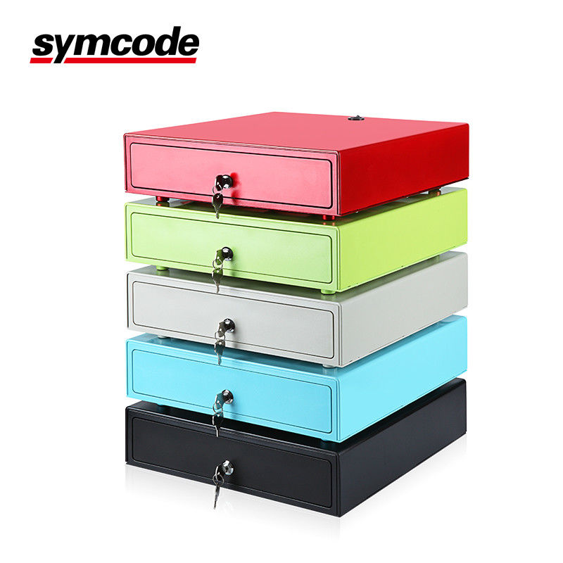 Symcode Bills Coins Manual Cash Drawer With Colorful Strong Steel Plate