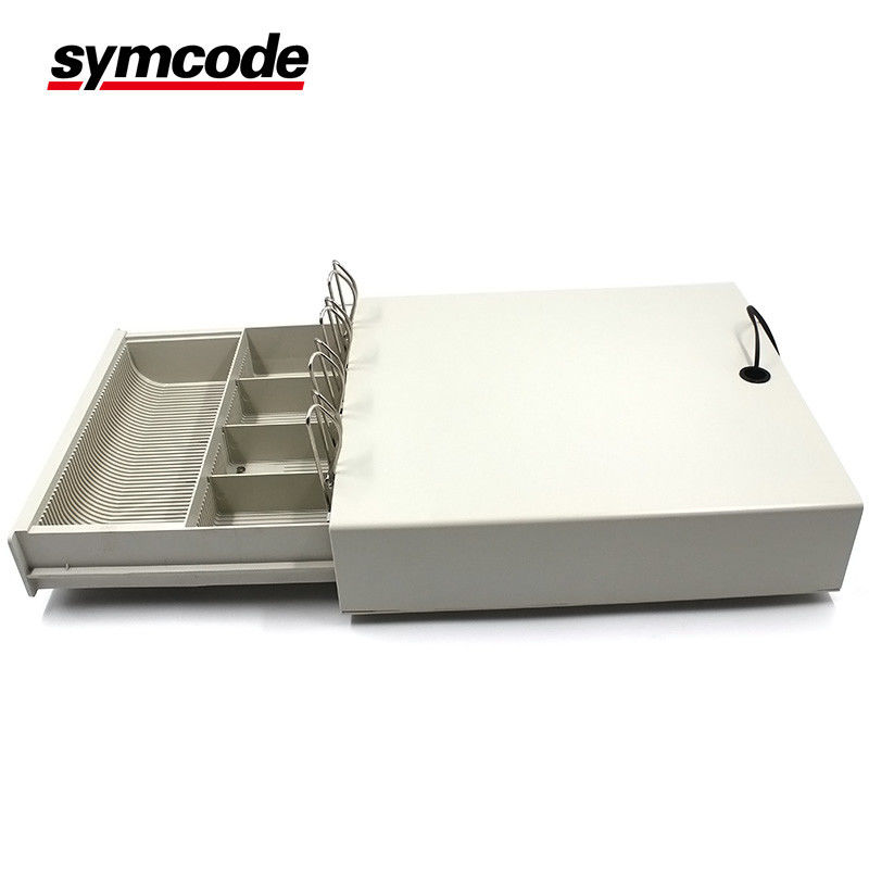 Metal Cabinet Cash Register Drawer 183 Mm Bill Length For Supermarket Restaurant