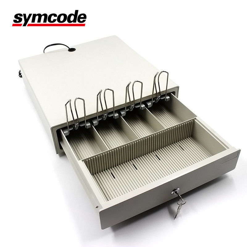 Bedroom Furniture Cash Register Drawer Textured Hybrid Powder Coat For POS Machine